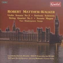 Robert Matthew-Walker (geb. 1939): Streichquartett Nr.1, CD