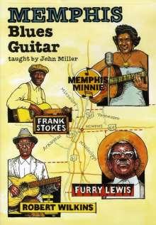 Memphis Blues Guitar taught by John Miller, DVD