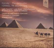 Georg Friedrich Händel (1685-1759): Israel in Ägypten (Fassung von Mendelssohn 1833), 2 CDs