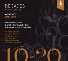 Decades - A Century of Song Vol.1 (1810-1820), CD