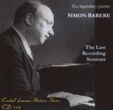 Simon Barere - The Last Recording Sessions March 1951, CD