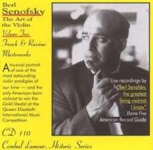 Berl Senofsky - The Art of the Violin Vol.2, CD
