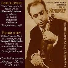Berl Senofsky - The Art of the Violin Vol.3, CD