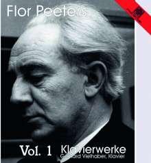 Flor Peeters (1903-1986): Klavierwerke Vol.1, CD