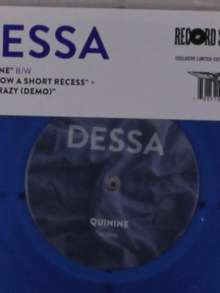 "Dessa: Quinine (Limited-Edition) (Blue Vinyl), Single 7"""