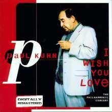 Paul Kuhn (1928-2013): I Wish You Love, CD