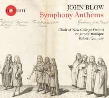 John Blow (1649-1708): Symphony Anthems, CD