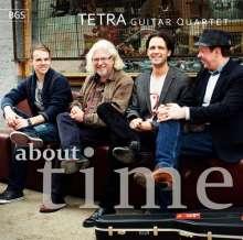 Tim Garland (geb. 1966): Tetra Guitar Quartet: About Time, CD