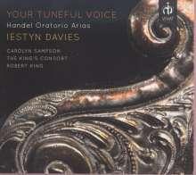 Iestyn Davies - Your Tuneful Voice (Händel-Arien), CD