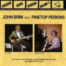John Brim: John Brim & Pinetop Perkins: Chicago Blues Session, CD