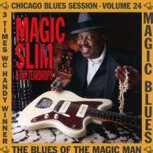 Magic Slim (Morris Holt): Blues Of The Magic Man, CD