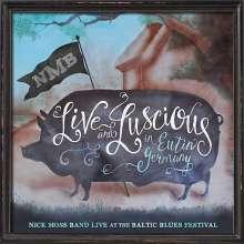 Nick Moss: Live & Luscious, CD
