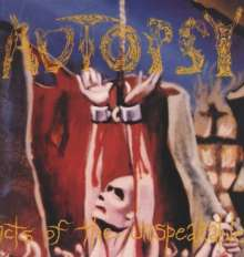 Autopsy: Acts Of The Unspeakable (180g) (Limited Edition) (Yellow Vinyl), LP
