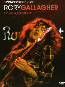 Rory Gallagher: Live At Rockpalast, 3 DVDs