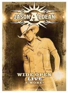 Jason Aldean: Wide Open Live & More, DVD