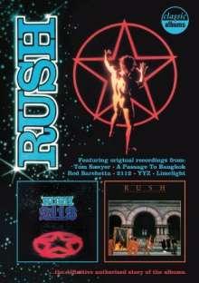 Rush: Classic Albums (Blu-ray + DVD), 4 Blu-ray Discs