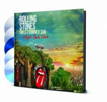 The Rolling Stones: Sweet Summer Sun: Hyde Park Live 2013 (Limited Deluxe Edition), 2 DVDs, 1 Blu-ray Disc und 2 CDs