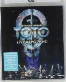 Toto: 35th Anniversary Tour: Live In Poland 2013 (Ländercode 1), DVD