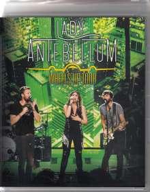 Lady Antebellum: Wheels Up Tour 2015 (Ländercode 1), 2 CDs