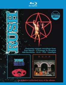Rush: 2112 / Moving Pictures, Blu-ray Disc