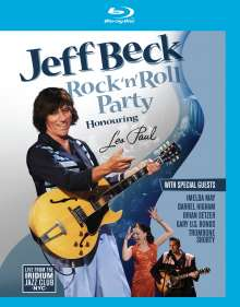 Jeff Beck: Rock'n'Roll Party, Blu-ray Disc