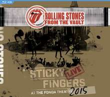 The Rolling Stones: From The Vault: Sticky Fingers – Live At The Fonda Theatre 2015, CD
