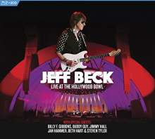 Jeff Beck: Live At The Hollywood Bowl, 2 CDs und 1 Blu-ray Disc