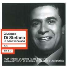 Giuseppe di Stefano in San Francisco, CD