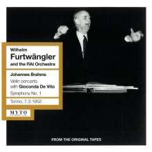 Johannes Brahms (1833-1897): Symphonien Nr.1 & 2, 2 CDs