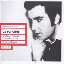Giacomo Puccini (1858-1924): La Rondine, 2 CDs
