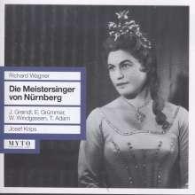 Richard Wagner (1813-1883): Die Meistersinger von Nürnberg, 4 CDs