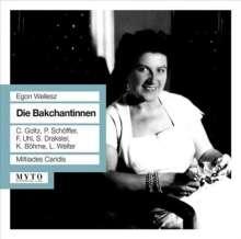 Egon Wellesz (1885-1974): Die Bakchantinnen (Oper in 2 Akten), 2 CDs