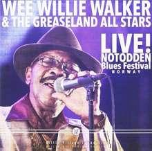 Wee Willie Walker: Live Notodden Blues Festival, CD