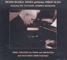 Philip Glass (geb. 1937): Tirol Concerto für Klavier & Orchester, CD