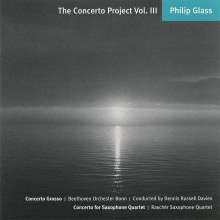 Philip Glass (geb. 1937): The Concerto Project Vol.3, CD