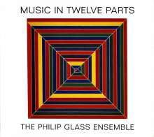 Philip Glass (geb. 1937): Music in 12 Parts, 4 CDs