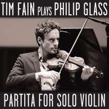 Philip Glass (geb. 1937): Partita für Violine solo, CD