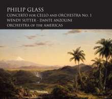 Philip Glass (geb. 1937): Cellokonzert Nr.1, CD