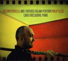 Massimo Mercelli performs Philip Glass, CD