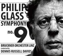 Philip Glass (geb. 1937): Symphonie Nr.9, CD