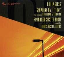 "Philip Glass (geb. 1937): Symphonie Nr.1 ""Low Symphony"", CD"