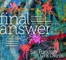 San Francisco Girls Chorus - Final Answer, CD