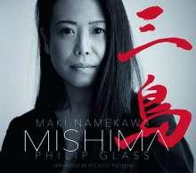 Philip Glass (geb. 1937): Mishima (Filmmusik) für Klavier, CD