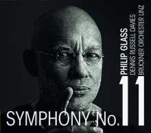 Philip Glass (geb. 1937): Symphonie Nr.11, CD