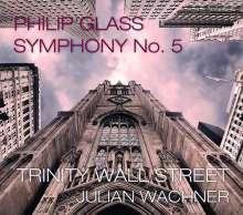 Philip Glass (geb. 1937): Symphonie Nr.5, 3 CDs