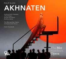 Philip Glass (geb. 1937): Akhnaten (Oper in drei Akten), CD