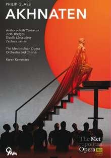 Philip Glass (geb. 1937): Akhnaten (Oper in drei Akten), DVD