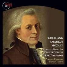 Wolfgang Amadeus Mozart (1756-1791): Werke für 2 Klaviere, CD