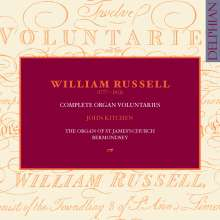 William Russell (1777-1813): Complete Organ Voluntaries, 3 CDs