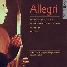 Gregorio Allegri (1582-1652): Missa in lectulo meo, CD